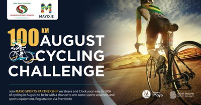 100K August Cycling Challenge
