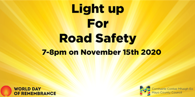 Communities asked to 'Light up for Road Safety'